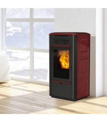 Pellet thermo-stoves