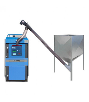 Wood gasification and pellet boilers