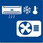 Air to air heating pumps