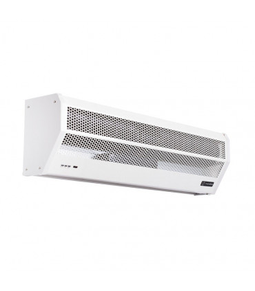 Electric heated air curtains