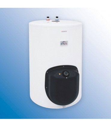 Sähkökäyttöiset lämminvesivaraajat lattialla
