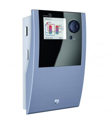 Solar heating controllers