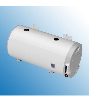 Combined wall-mounted, horizontal water heaters