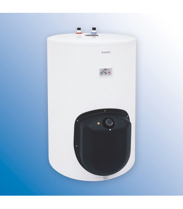 Combined, vertical, stationary water heaters